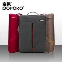 Pofokoกันน้ำ11 13นิ้วmessengerและแล็ปท็อปแขนกระเป๋าเคสสำหรับmacbook airสำหรับmachbool p ro 13แข