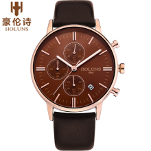 oringal new fashion ultra thin men wristwatch top brand luxury 2017 holuns geneva analog waterproof quartz-watch military steel