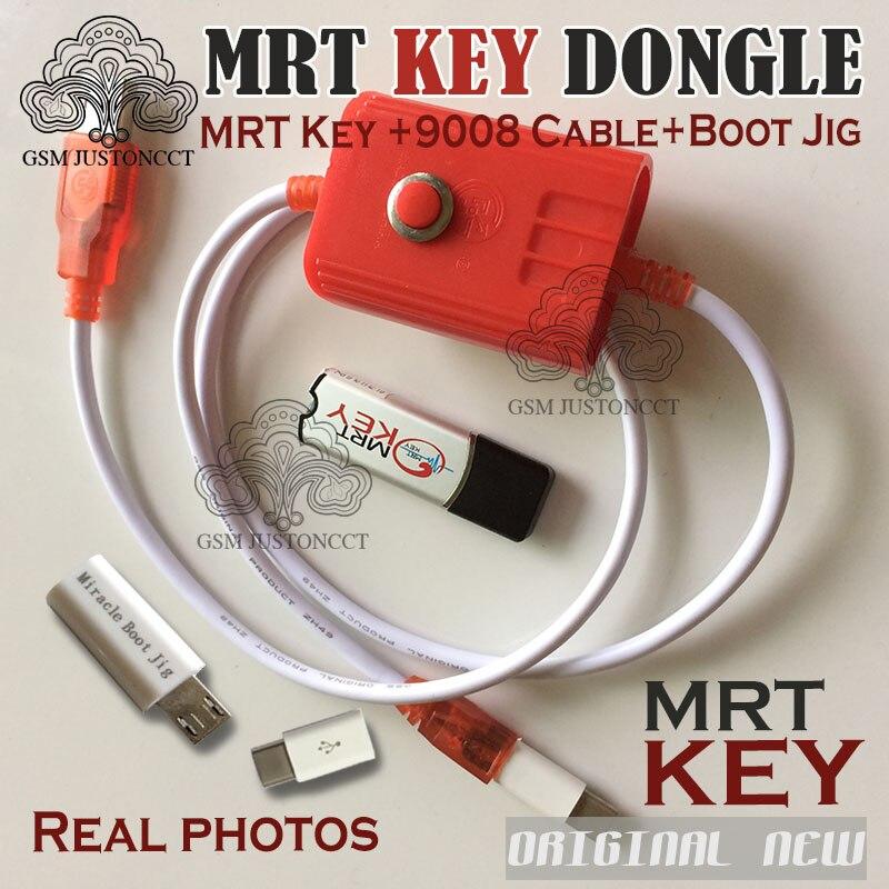 2019 Original MRT dongle 2 MRT key 2 + xiaomi9008 BL câble et gabarit de démarrage Miracle pour la réparation de compte activer complètement la version