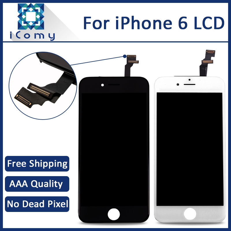 10PCS LOT AAA Quality 4 7 inch For Apple iPhone 6 LCD Complete Display font b