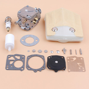 Image 3 - Carburetor Carb Air Filter Diaphragm Repair Kit fit Husqvarna 61 66 266 503280316 Chainsaw Tillotson HS 254B Carburetor RK 23HS