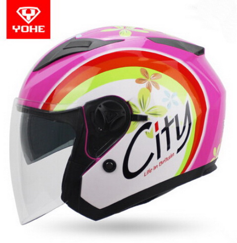 2017 New YOHE half face Motorcycle helmet YH-868 ABS Motorbike helmet Double lens electric bicycle helmets for four seasons 2017 new yohe half face motorcycle helmet yh 868 abs motorbike helmet double lens electric bicycle helmets for four seasons