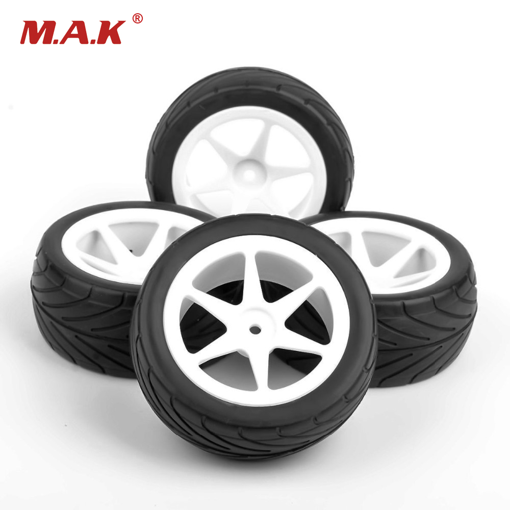 12mm Hex 1/10 Off Road Tires/Tyre And Wheel Rim Model Kids Toys For RC Buggy Car Model Accessory Gifts Collections 1 10 rc car model accessory toys aluminum alloy wheel rim brake disc hsp 00145s for rc on road racing car model