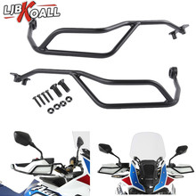 1 Pair Motorcycle Hand Guards Handlebar Protector For Honda CRF1000L Africa Twin DCT 2016 2017 2018 Black Motocross Handguard maisto 1 18 honda africa twin dct crf1000l motorcycle bike diecast model toy new in box