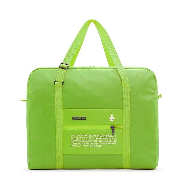 Fashion WaterProof Travel Bag Large Capacity journey duffle Women Nylon Folding Bag Unisex Men Luggage Travel Handbags Wholesale 1