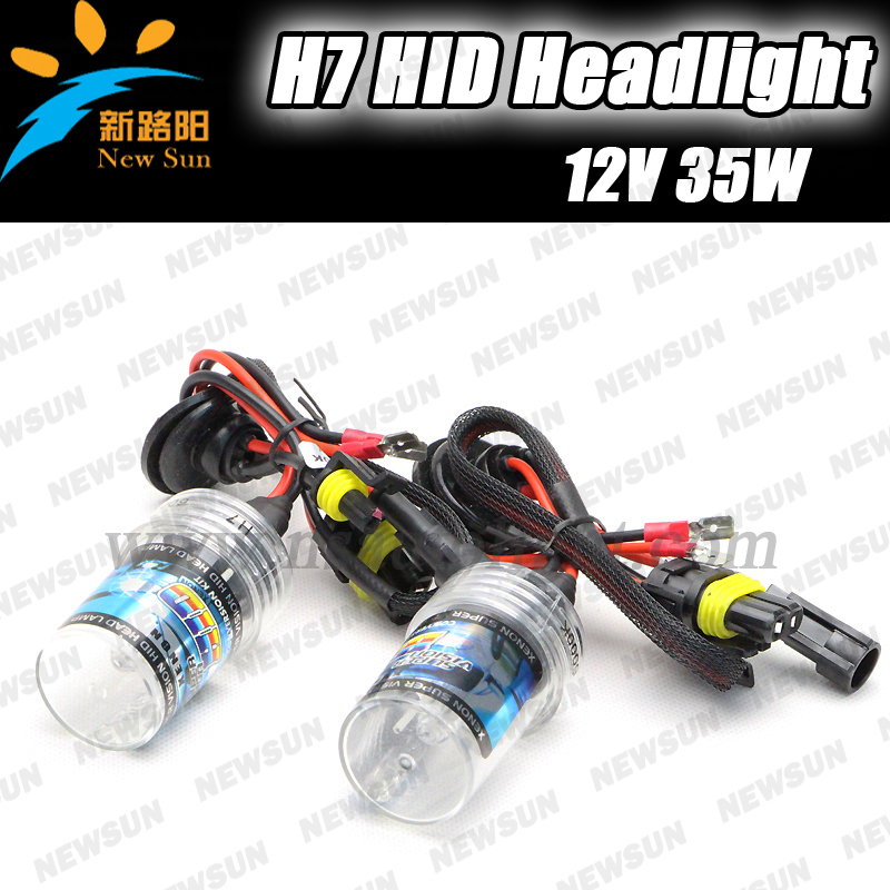 2014 New Arrival Hot Selling  Top Quality 35W Slim XENON HID KIT H7 Slim Ballast HID xeon light bulb single beam lighting
