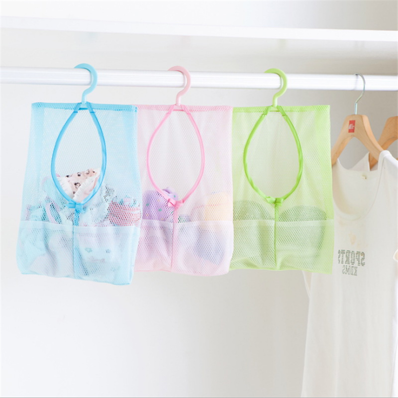 1pc Hangable Multi-Purpose Storage Net Bag Clothes Clip Net Bag Home Garden Home Storage Organization Kitchen Storage Bag