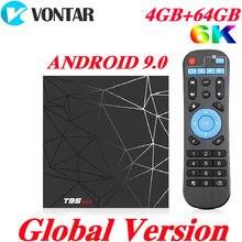 4GB RAM 64GB ROM 6K Smart TV BOX Android 9.0 T95 MAX Allwinn
