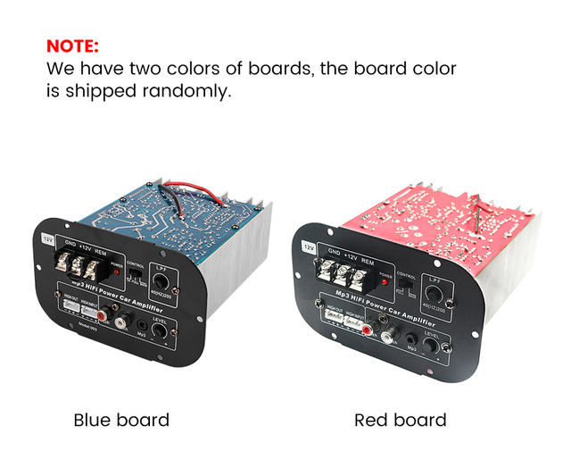 Aoshike 12V High Power Subwoofer Car Amplifier Board Full Tone Pure Bass Car Subwoofer Core 8 Inch 10 Inch 12 Inch 1