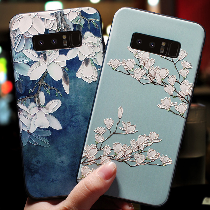 3D Rose Emboss Case For Samsung A51 Case Soft Silicone TPU Coque For Samsung Galaxy A71 A51 S20 Ultra Plus A90 5G M40S 2020 Case