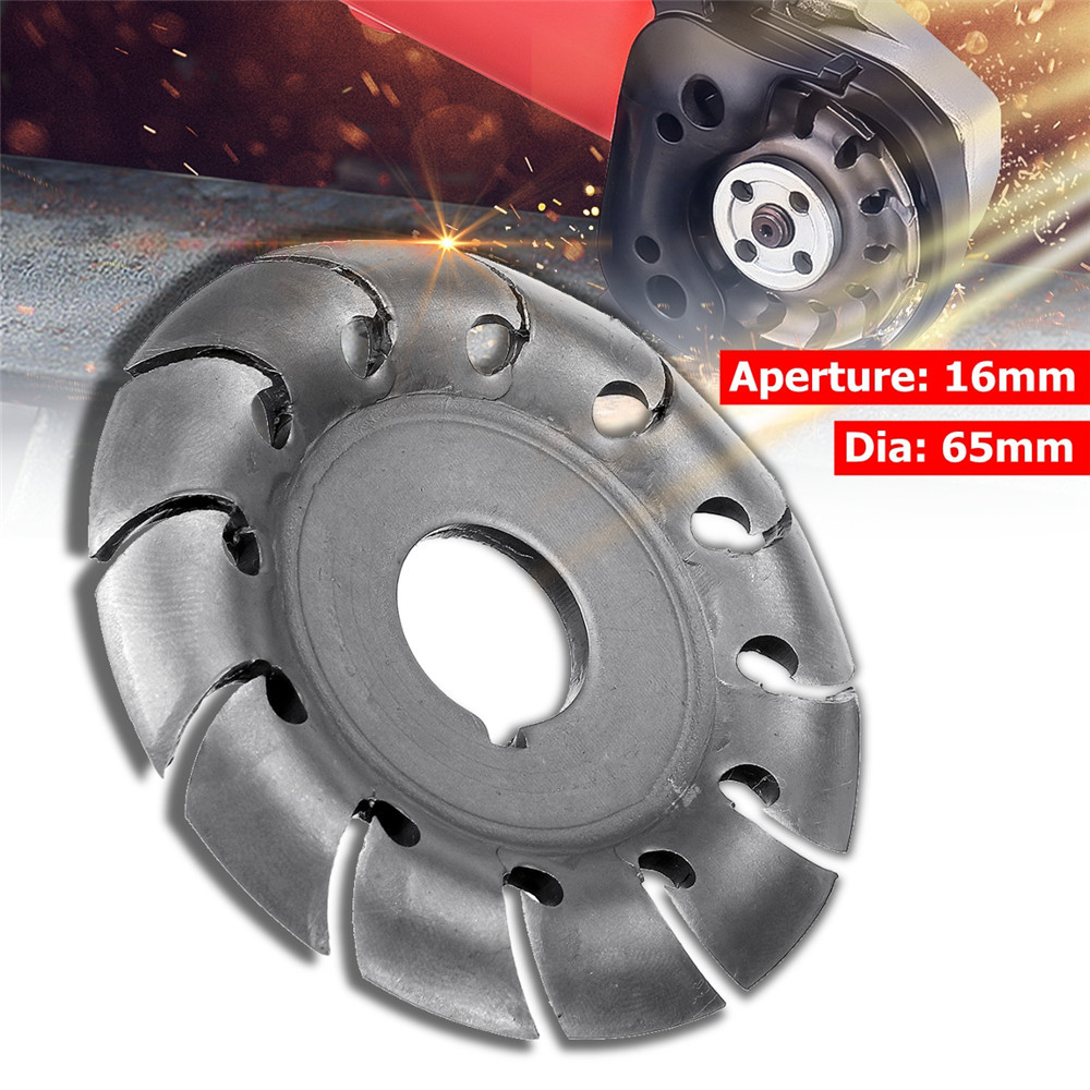 16mm Grinder Disc Chain  Manganese Steel Cutting Wood Plastic For Angle Grinder