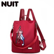 Women Luxury Backpack Anti Theft Bagpack Nylon Teenagers School Bags For Girls Bookbag Female Back Pack