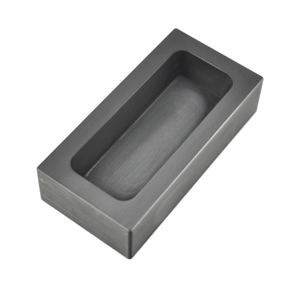 High Purity Refining Graphite Casting Melting Ingot Mold for Gold Silver Metal 85x45x30mm for 665g Gold / 320g Silver graphite ingot mold for 665g gold casting 320g silver melting gold bar mold free shipping