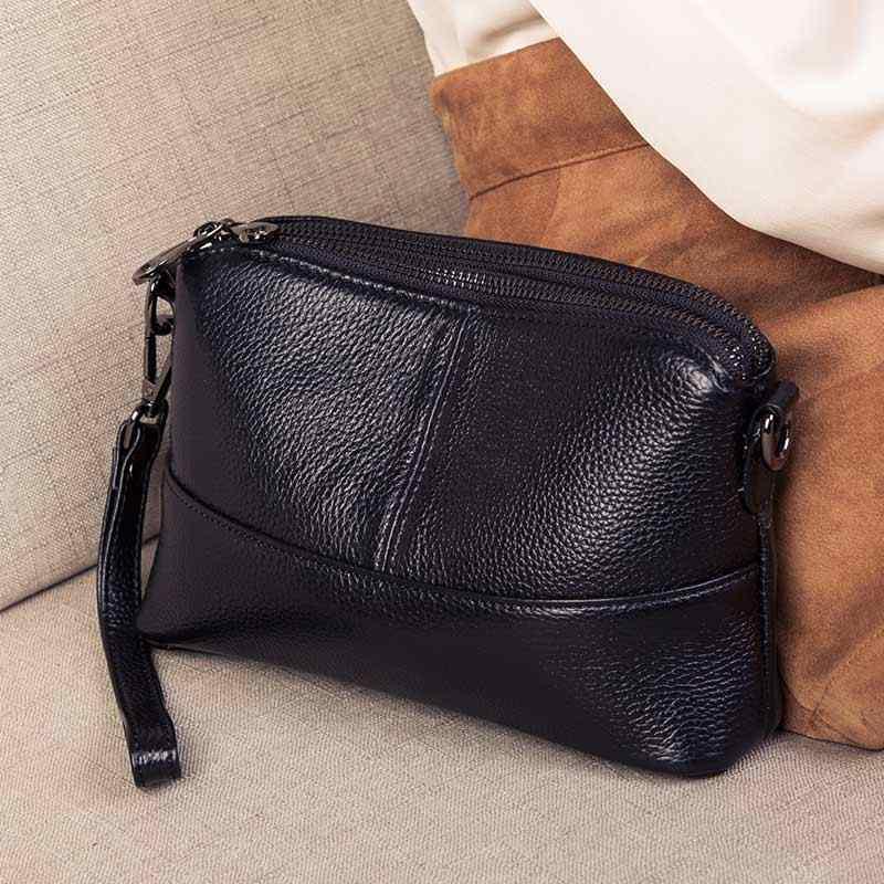 Женские клатчи для мужчин из натуральной кожи, ручная сумка, модные длинные бумажники, женские вечерние клатчи, сумки через плечо