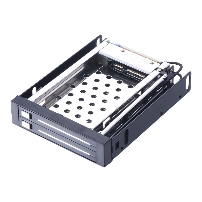 Uneatop ST2522 2 Bay 2 5 Aluminum Case SATA HDD Internal Enclosure