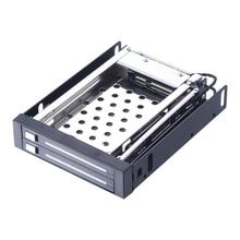 Uneatop ST2522 2-Bay 2.5″ Aluminum Case SATA HDD Internal Enclosure