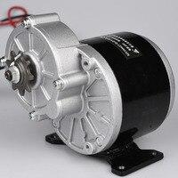 350 w 24 v 36 v engrenagem elétrica do motor da engrenagem triciclo escova dc motor escovado my1016z3 para e moto ebike  bicicleta dobrável