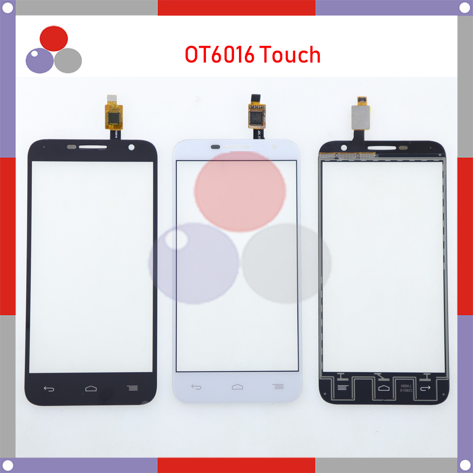 High Quality <font><b>For</b></font> <font><b>Alcatel</b></font> One Touch Idol 2 mini 6016 <font><b>6016D</b></font> 6016A 6016E 6016X OT6016 Touch Panel Glass Front Glass Lens Screen image