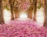 Рукоделие, DMC Вышивание, 14ct без надписей для Вышивка комплект розовый цветы вишневого дерева живописные крест-шить, DIY декора ручной работы