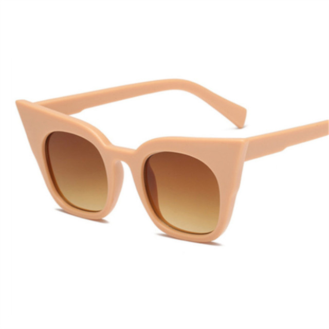New Cat Eye Sunglasses Women Kids Vintage Shaped Sun Glasses Female Eyewear Brand Designer Sunglasses 2