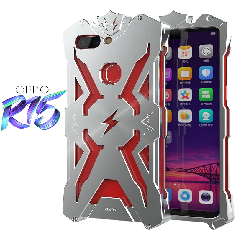Image 3 - Metal case for OPPO R15New Thor Series case for OPPO R15 Zimon Luxury Aviation Aluminum Phone Case for R15 Powerful Shockproof-in Fitted Cases from Cellphones & Telecommunications