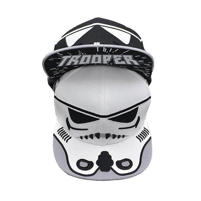 Boné de beisebol Unisex para Star Wars Storm Trooper Snapback adulto de Star Wars Cosplay chapéu D0330