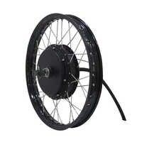 QS Motor Fahrrad Speichen motor 3000W 205 (50 H) V3 Typ Hub Motor mit moped felge