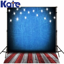 цены 5x7FT Kate Children Photography Studio Backgrounds American Flag Backgrounds For Photo Studio Wood Floor Backdrops Photography