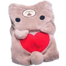 "Cute, Warm ""Heart"" Winter Hoodie / Sweater / Pajamas"