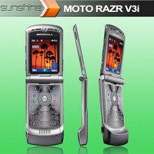 "Unlocked Original Motorola V3i Refurbished Cell Phones 2.2"" Bluetooth Multi-language Original Motorola RAZR V3i Mobile Phone"