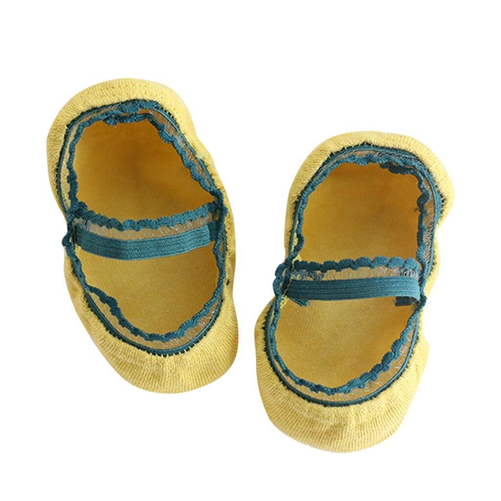 Girls Wild Lace Children Invisible Socks Baby Socks Boat Socks