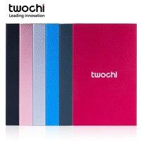 TWOCHI 2.5 HDD 500GB 750GB USB3.0 External Hard Drive Hard Disk hd disco duro externo for Desktop Laptop Metal 6 color