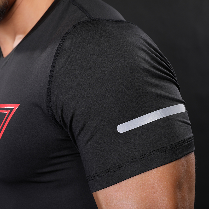 """NANSHA Brand New Compression Shirt"" trumpomis rankovėmis - Vyriški drabužiai - Nuotrauka 5"