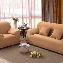Neue Ankunft Sofabezüge Stretch Couch Abdeckung Sitz Sofa Schonbezug Sofa Wohnmöbel Schutz Solid Color