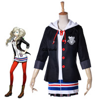 Persona 5 Anne Takamaki Panther School Uniform Dress Outfit Games Cosplay Costumes