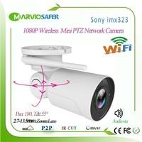 1080P IP PTZ Bullet Camera Full HD 5X Optical Zoom IP66 Waterproof Night Vision IP Camera Mini Outdoor WIFI PTZ P2P Surveillance