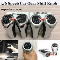 10pcs Set Car Gear Shift Knob Gear Head Lever With R 1 2 3 4 5