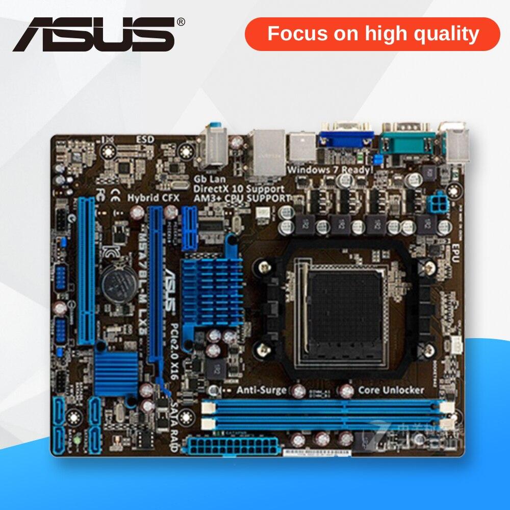 Asus M5A78L-M LX3 Desktop Motherboard A78L M5A78L-M LX3 Socket DDR3 USB2.0 ATX original desktop motherboard m5a78l m lx3 plus for asus 780 series