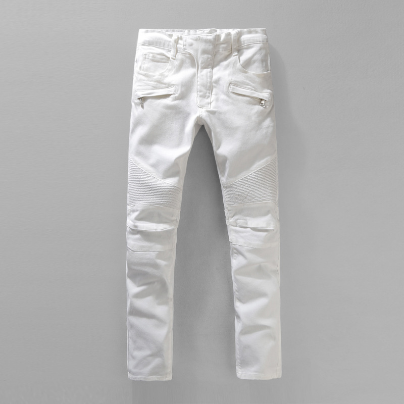 Popular White Jeans Men-Buy Cheap White Jeans Men lots from China ...