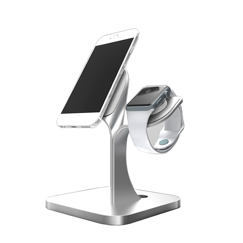 Micro-Suction Cell Phone Stand Desktop Mount Holder Double sided available Charging Dock for Apple Watch/iPhone/Smartphones