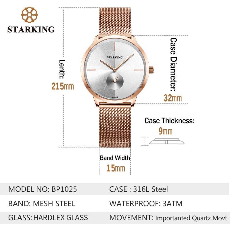Golden Tulip oro rosa de acero de las mujeres de la marca de lujo de reloj  Casual señoras reloj de señora Relogio femenino Zegarek Damski en Relojes  de ... 33d30ec78787