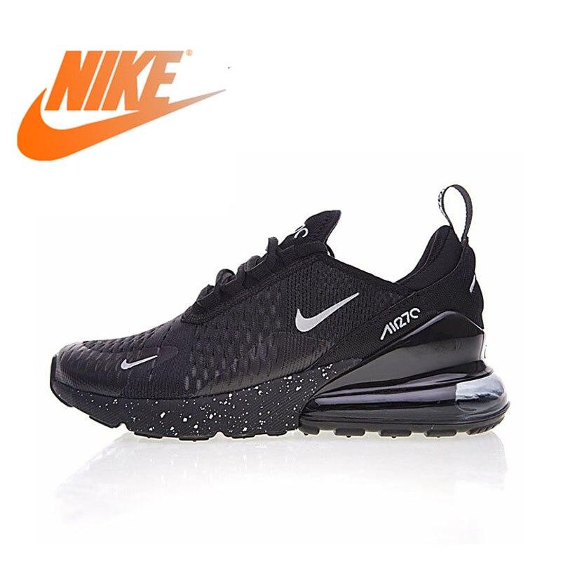D'origine Nike Air Max 270 Hommes Respirant chaussures de course de Sport 2018 nouveauté Authentique baskets d'extérieur Designer AH8050-202