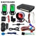 EASYGUARD 2-полосная Автомобильная сигнализация pke безключевой вход ЖК-пейджер дисплей вибрационная сигнализация Универсальная автомобильная ...