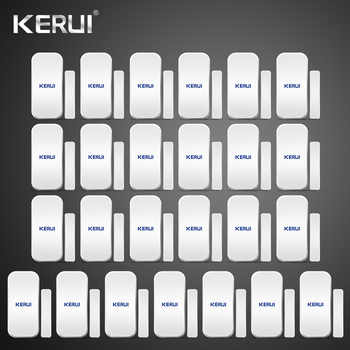 25pcs Kerui Home Alarm Wireless Door Window Magnetic Detector Gap Sensor For GSM Wifi Home Security Alarm System Touch Keypad - DISCOUNT ITEM  18% OFF All Category