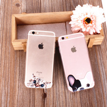 Cute Cat & Dog Phone Case N.1 for iPhone (Available for all models)