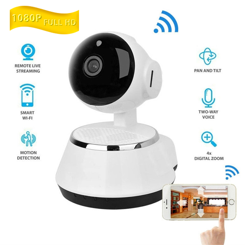 Wireless Pan Tilt 1080P Security Network CCTV IP Camera Night Vision WIFI Webcam