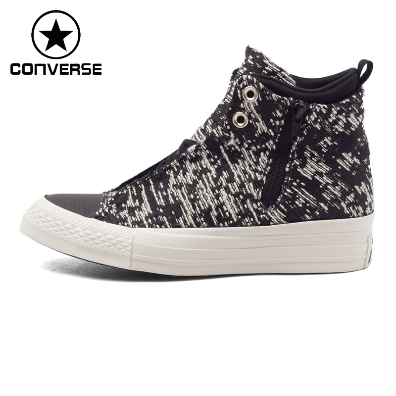 Original New Arrival Converse Women's High top Skateboarding Shoes Canvas Sneakers nikki logan sõbrad igaveseks