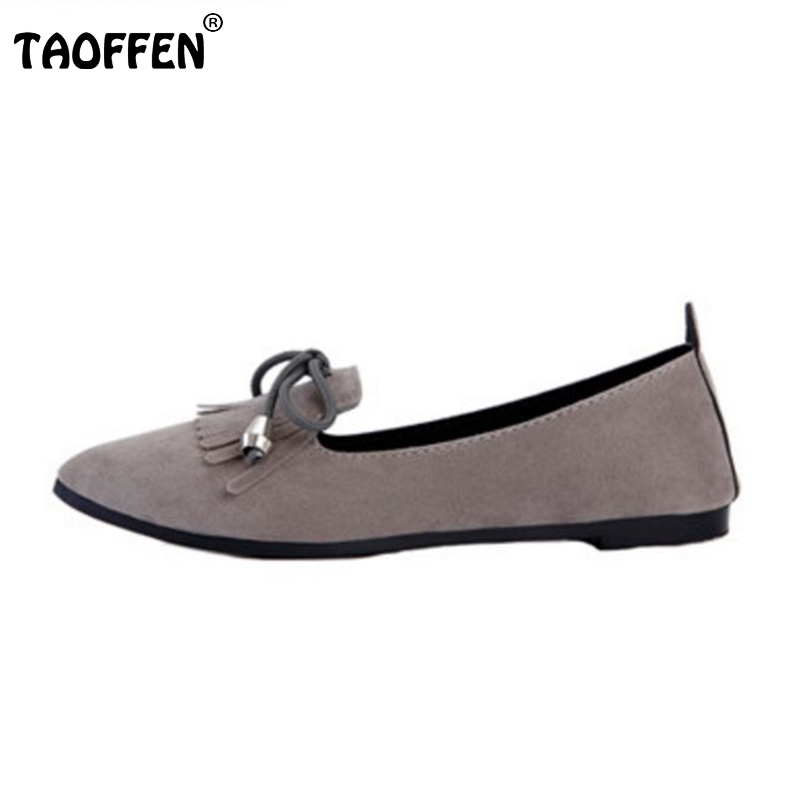 New Arrived Ladies Flats Shoes Women Ballet Flats Shoes For Work Cloth Flats Tassel Slip On Women's Pregnant Shoes Size 35-39 factory direct sale women cloth shoes new designer shoes bowknot casual shoes work flats