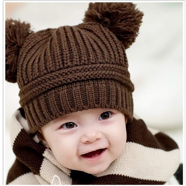 placeholder bebe Caps crochet Baby Hat handmade children beanie Bonet Infant  caps newborn photography props accessories 672654575ff