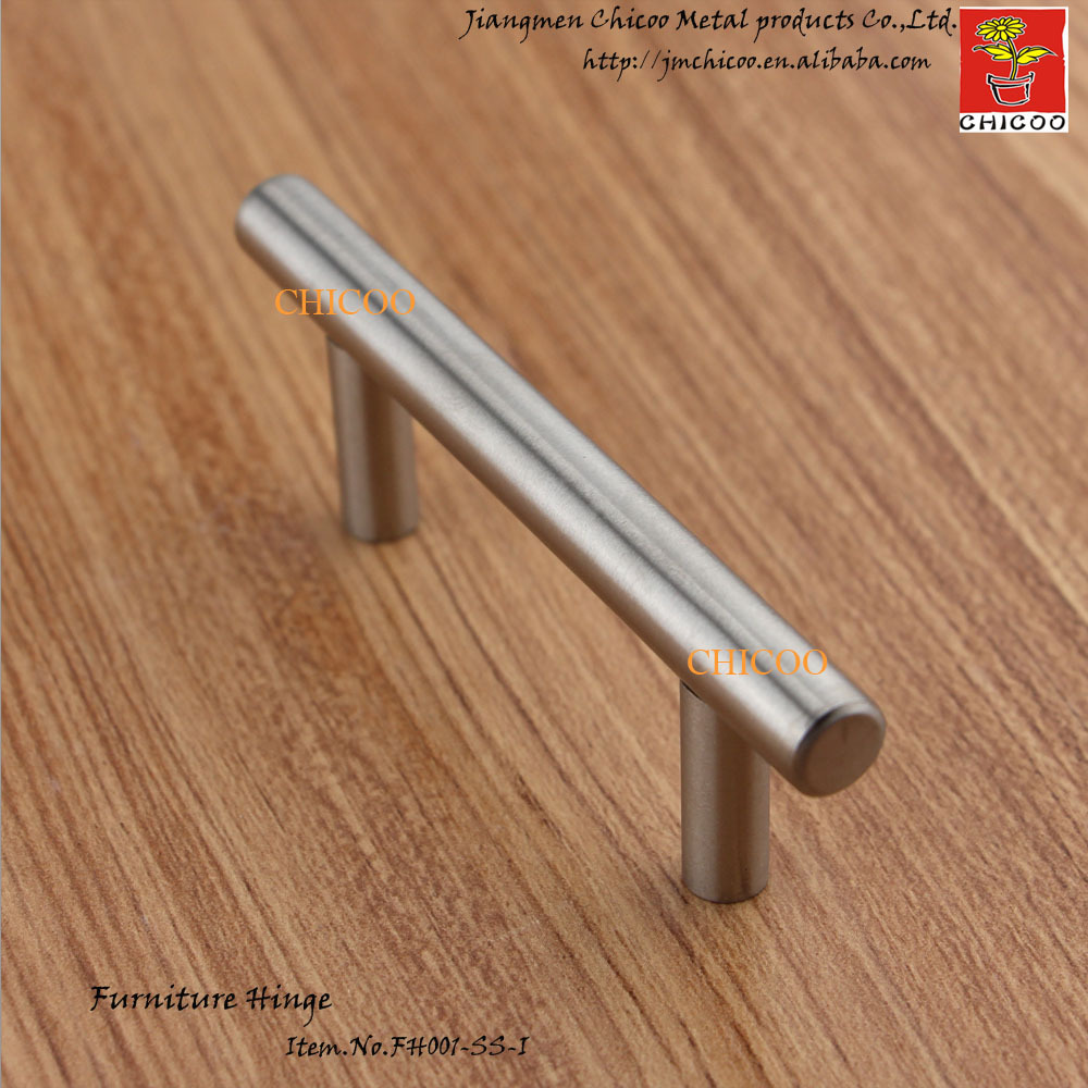Stainless steel kitchen cabinet bar pull handle - 64mm Center To Center Stainless Steel Kitchen Cabinet T Bar Pull Handle Cabinet Knobs Drawer Handles In Cabinet Pulls From Home Improvement On